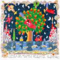 Seri 50x50 B L'albero dei cuori
